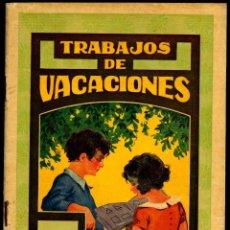 Libros antiguos: TRABAJOS DE VACACIONES Nº 2. EDITORIAL DALMAU. 1960/HOLIDAY WORKS Nº 2. DALMAU PUBLISHING HOUSE. 196. Lote 187373092