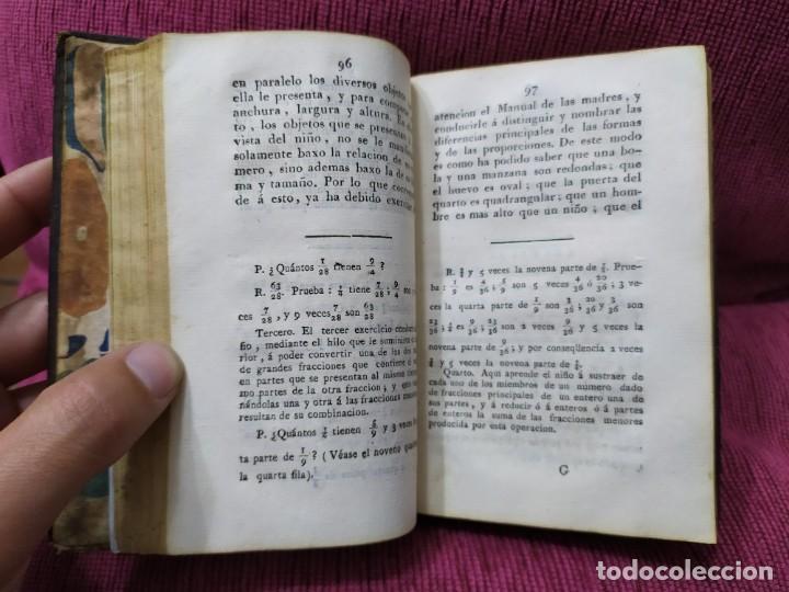 Libros antiguos: 1807. Exposición del método elemental de Henrique Pestalozzi. Alex Chavannes. - Foto 7 - 188449793