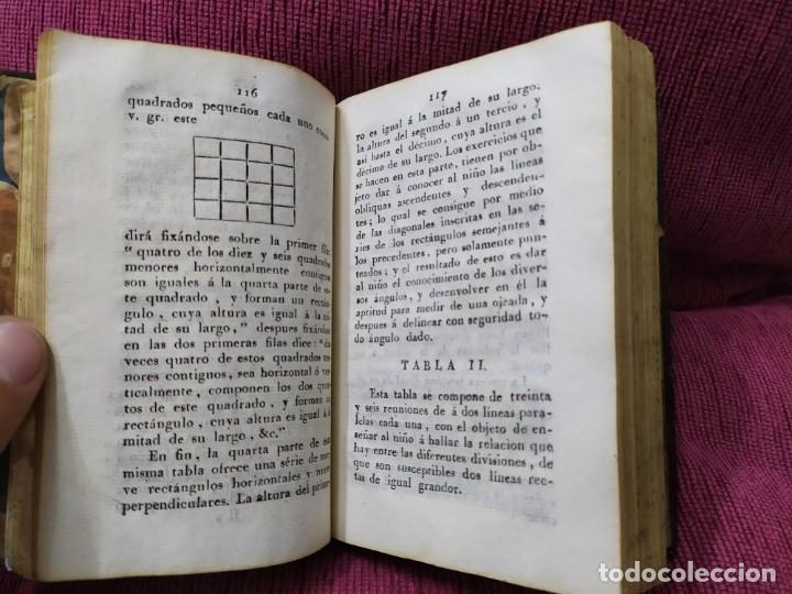 Libros antiguos: 1807. Exposición del método elemental de Henrique Pestalozzi. Alex Chavannes. - Foto 8 - 188449793