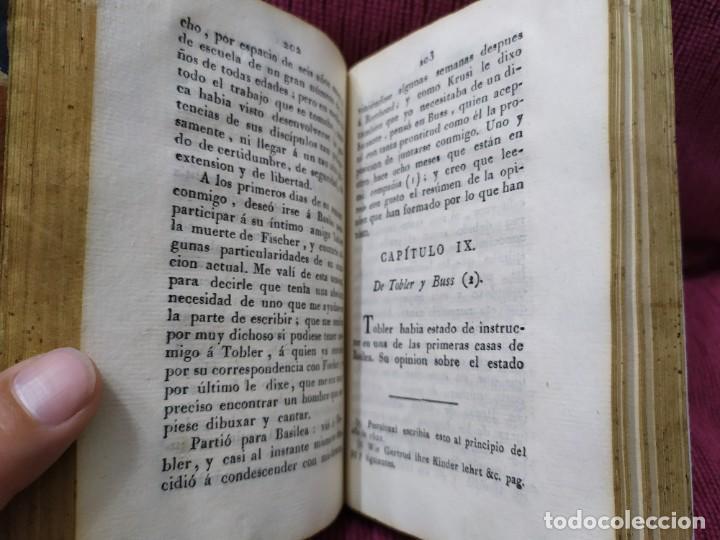 Libros antiguos: 1807. Exposición del método elemental de Henrique Pestalozzi. Alex Chavannes. - Foto 9 - 188449793