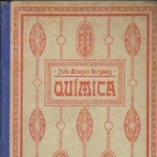 Libri antichi: ELEMENTOS DE QUIMICA GENERAL. MONZON GONZALEZ, JULIO. A-ESC-1729. Lote 189578302