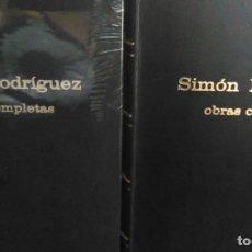Libri antichi: OBRAS COMPLETAS 2 TOMOS / SIMON RODRIGUEZ. Lote 190864877