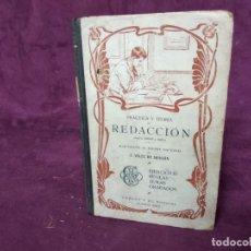 Libros antiguos: 1906, PRÁCTICA Y TEORÍA DE REDACCIÓN, CABAUT Y CÍA, BUENOS AIRES. Lote 191471853