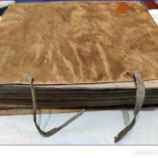 Libros antiguos: AÑO 1742. FRAGMENTOS GRAMATICALES. PERGAMINO ESPAÑOL. DEDICADO AL SENADO DE LA CIUDAD DE TERUEL.. Lote 193952612