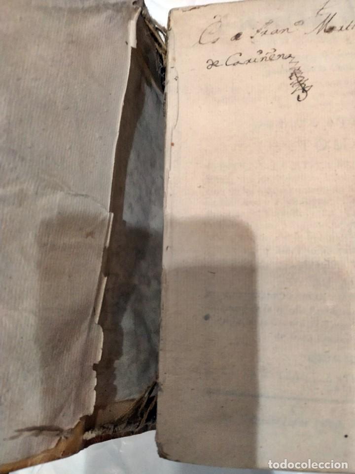 Libros antiguos: AÑO 1742. FRAGMENTOS GRAMATICALES. PERGAMINO ESPAÑOL. DEDICADO AL SENADO DE LA CIUDAD DE TERUEL. - Foto 4 - 193952612