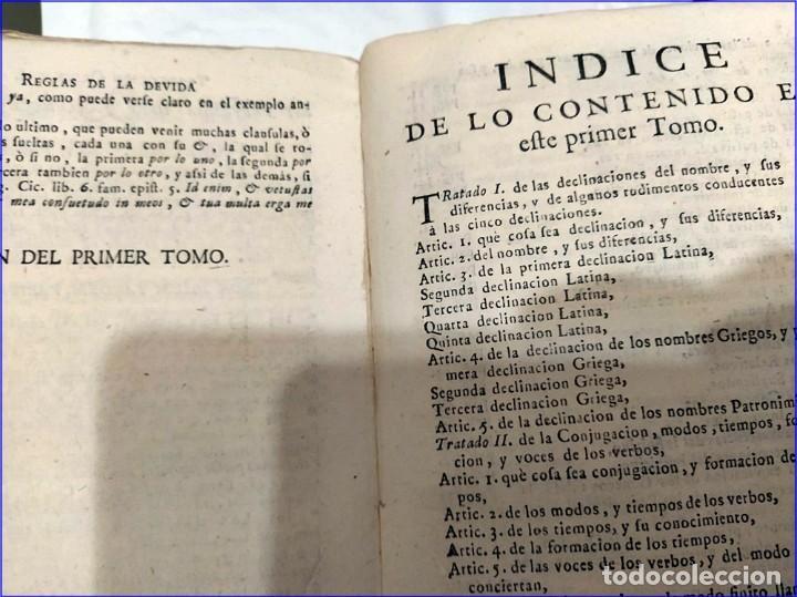 Libros antiguos: AÑO 1742. FRAGMENTOS GRAMATICALES. PERGAMINO ESPAÑOL. DEDICADO AL SENADO DE LA CIUDAD DE TERUEL. - Foto 14 - 193952612