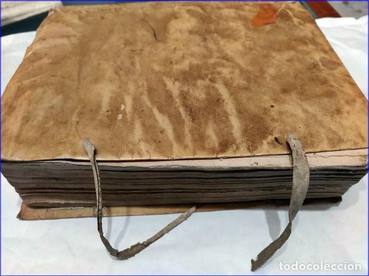 Libros antiguos: AÑO 1742. FRAGMENTOS GRAMATICALES. PERGAMINO ESPAÑOL. DEDICADO AL SENADO DE LA CIUDAD DE TERUEL. - Foto 15 - 193952612