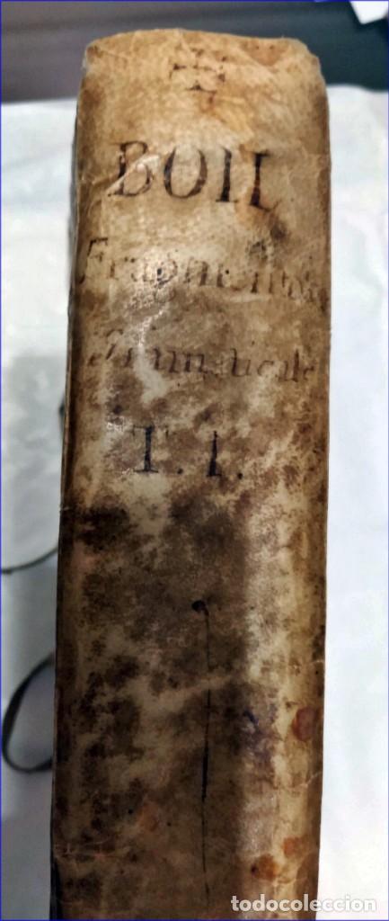Libros antiguos: AÑO 1742. FRAGMENTOS GRAMATICALES. PERGAMINO ESPAÑOL. DEDICADO AL SENADO DE LA CIUDAD DE TERUEL. - Foto 17 - 193952612