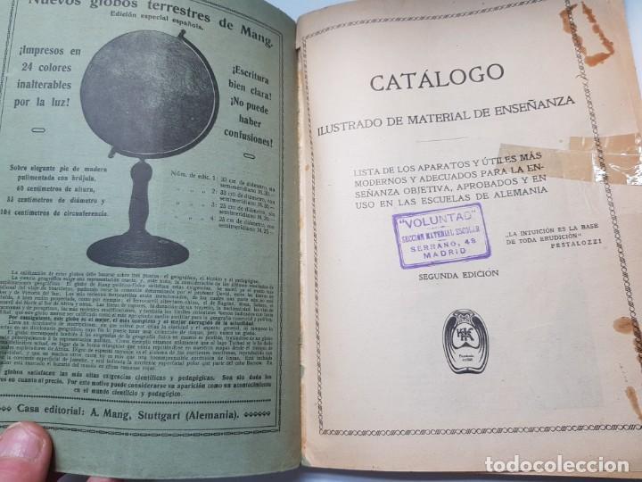 Libros antiguos: Catalogo Ilustrado de Material de Enseñanza Editorial Voluntad año 1904 muy dificil - Foto 2 - 199132133
