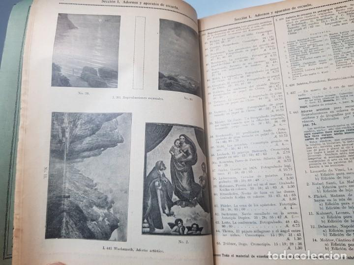 Libros antiguos: Catalogo Ilustrado de Material de Enseñanza Editorial Voluntad año 1904 muy dificil - Foto 6 - 199132133