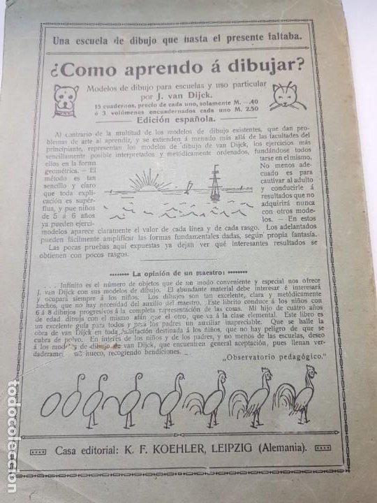 Libros antiguos: Catalogo Ilustrado de Material de Enseñanza Editorial Voluntad año 1904 muy dificil - Foto 7 - 199132133