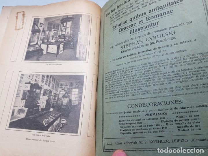 Libros antiguos: Catalogo Ilustrado de Material de Enseñanza Editorial Voluntad año 1904 muy dificil - Foto 8 - 199132133