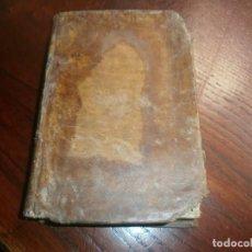 Libros antiguos: INSTITUTIONUM ELEMENTARIUM PHILOSOPHAE MATHESEOS AB ANDREA DE GUEVARA ET BASOAZABAL 1830 DESPLEGABLE. Lote 199150942