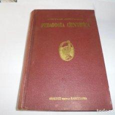 Livros antigos: MAGNIFICO LIBRO ANTIGUO PEDAGOGIA CIENTIFICA POR LA DOCTORA MARIA MONTESSORI DEL 1937. Lote 207858445