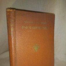 Libros antiguos: PSICO GEOMETRIA - DOCTORA MARIA MONTESSORI - 1ª EDICION CASTELLANA AÑO 1934 - ILUSTRADO.. Lote 208459482