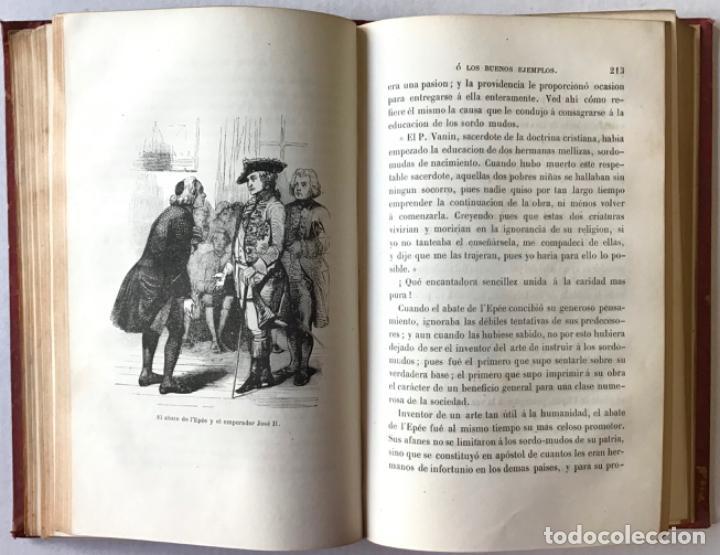 Libros antiguos: LOS BUENOS EJEMPLOS Ó LA MORAL EN ACCION. - DELESSERT, Benjamín de y GERANDO, barón de. - Foto 5 - 209098625