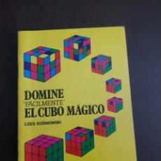 Libros antiguos: DOMINE FÁCILMENTE EL CUBO MÁGICO CZES KOSNIOWSKI. Lote 210570743