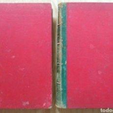 Libros antiguos: LOTE LA EDUCACION DE LA MUJER JOSÉ PANADÉS Y POBLET 1878 TOMO 2 Y 3. Lote 212412258