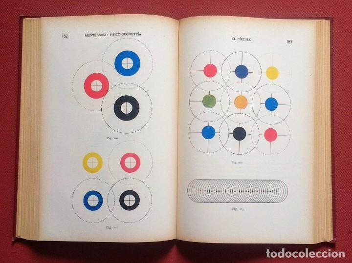 Libros antiguos: PSICO-GEOMETRIA - Dra. MONTESSORI - 1ª EDICION - 1934 - Foto 5 - 215780541