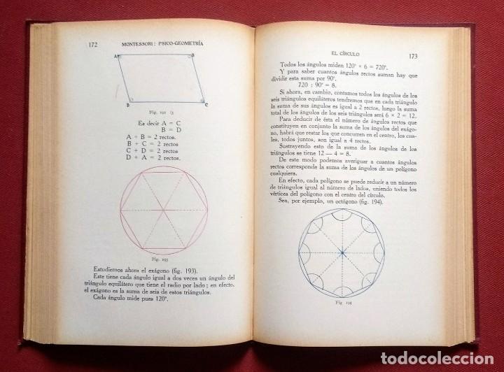 Libros antiguos: PSICO-GEOMETRIA - Dra. MONTESSORI - 1ª EDICION - 1934 - Foto 9 - 215780541