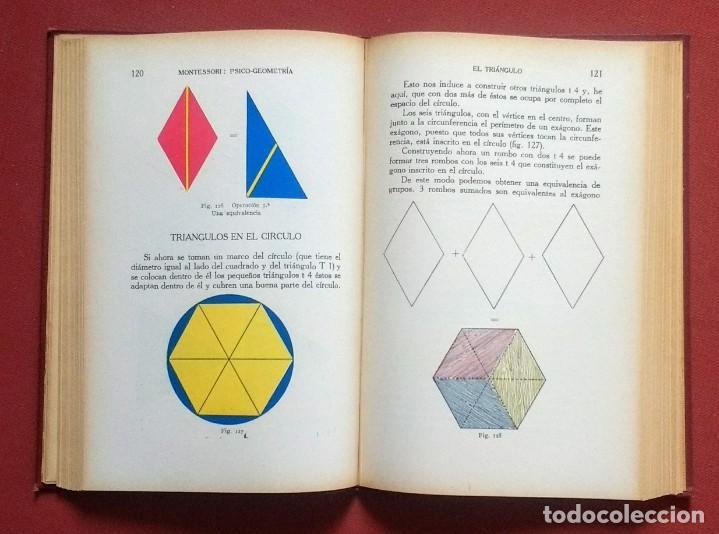 Libros antiguos: PSICO-GEOMETRIA - Dra. MONTESSORI - 1ª EDICION - 1934 - Foto 10 - 215780541