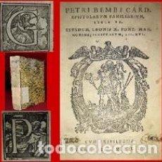 Libri antichi: 1552. POST INCUNABLE. LIBRO MUY RARO NO CATALOGADO (LEER). Lote 216729366