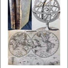 Libros antiguos: AÑO 1835: ERASTE. EL AMIGO DE LA JUVENTUD. 2 TOMOS. MAPAMUNDI DESPLEGABLE Y MAPA DE FRANCIA.. Lote 224184457