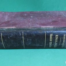 Libros antiguos: ENOLOGIA TEORICO PRACTICA O, OTTAVI VINOS DE PASTO Y COMERCIALES DEFENSA REPUBLICANA ULLDECONA 1901. Lote 225949490