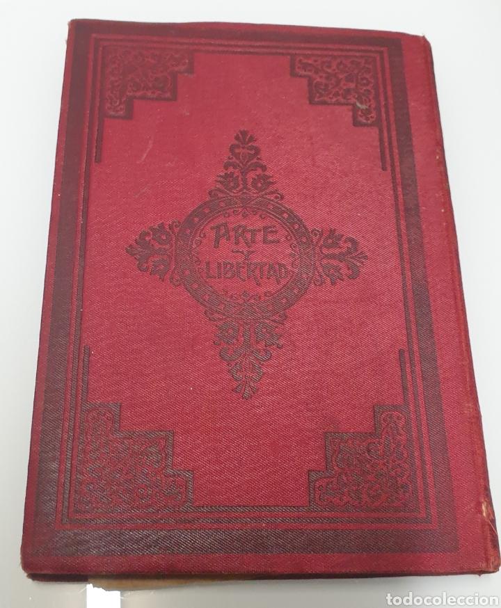 Libros antiguos: Rafael Altamira Giner de Los Ríos Educador Editorial Prometeo 1915 tapas originales Arte y Libertad - Foto 3 - 231196750