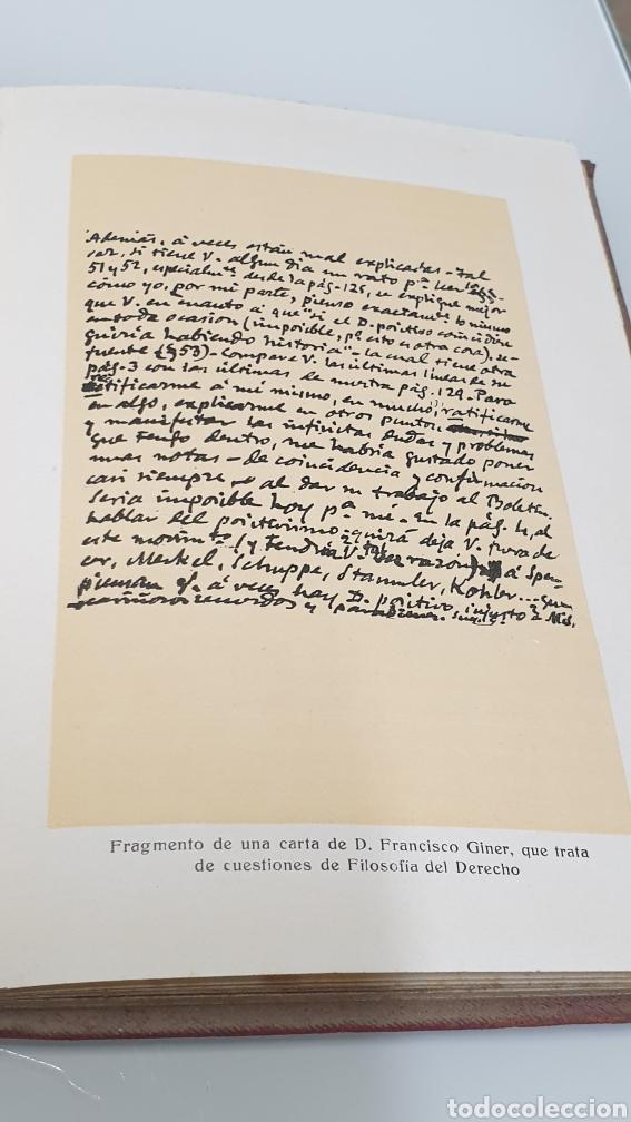 Libros antiguos: Rafael Altamira Giner de Los Ríos Educador Editorial Prometeo 1915 tapas originales Arte y Libertad - Foto 8 - 231196750