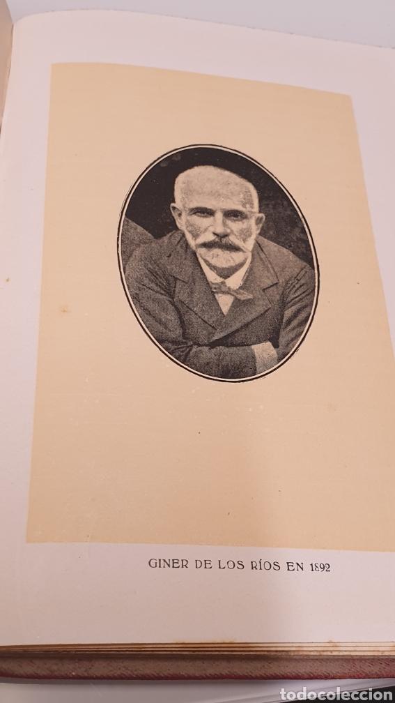 Libros antiguos: Rafael Altamira Giner de Los Ríos Educador Editorial Prometeo 1915 tapas originales Arte y Libertad - Foto 9 - 231196750