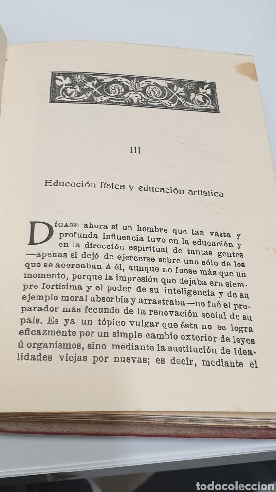 Libros antiguos: Rafael Altamira Giner de Los Ríos Educador Editorial Prometeo 1915 tapas originales Arte y Libertad - Foto 10 - 231196750
