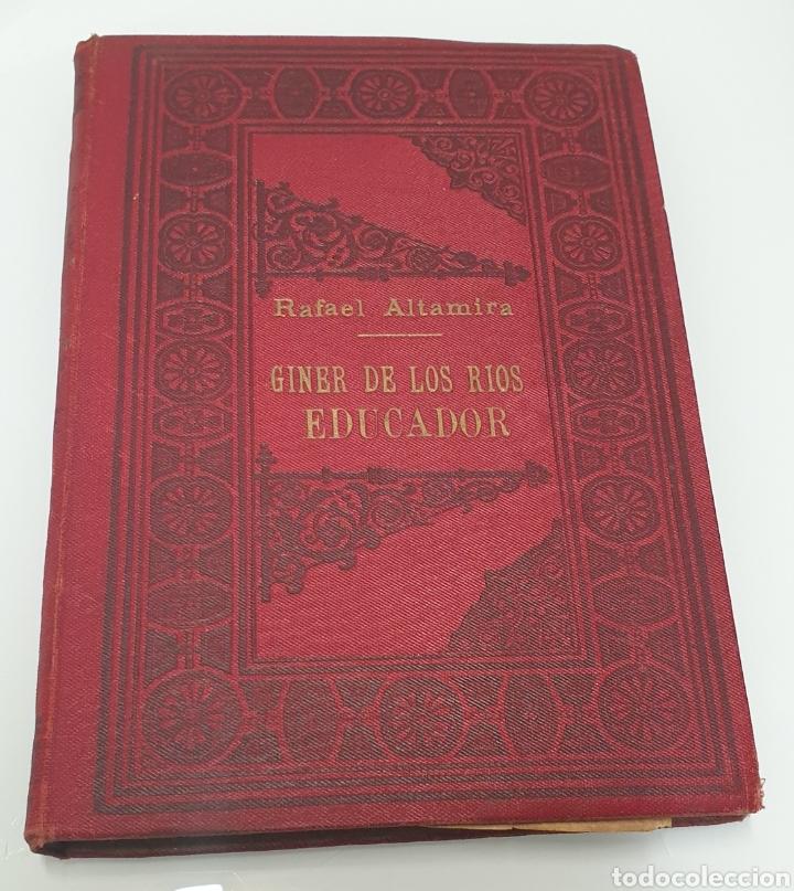 RAFAEL ALTAMIRA GINER DE LOS RÍOS EDUCADOR EDITORIAL PROMETEO 1915 TAPAS ORIGINALES ARTE Y LIBERTAD (Libros Antiguos, Raros y Curiosos - Ciencias, Manuales y Oficios - Pedagogía)