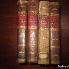 Libros antiguos: 4/6 L'ECOLE DES MOEURS,OU REFLEXIONS MORALES ET HISTORIQUES BLANCHARD 1804 LYON. Lote 232906305