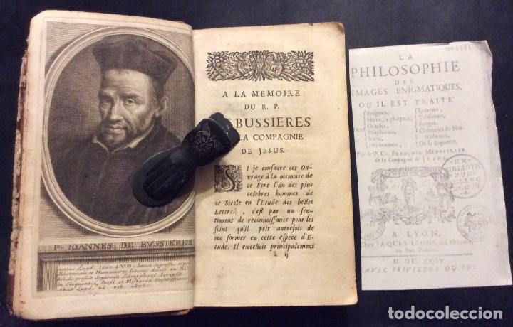 LA PHILOSOPHIE DES IMAGES ENIGMATIQUES 1694 (Libros Antiguos, Raros y Curiosos - Ciencias, Manuales y Oficios - Pedagogía)