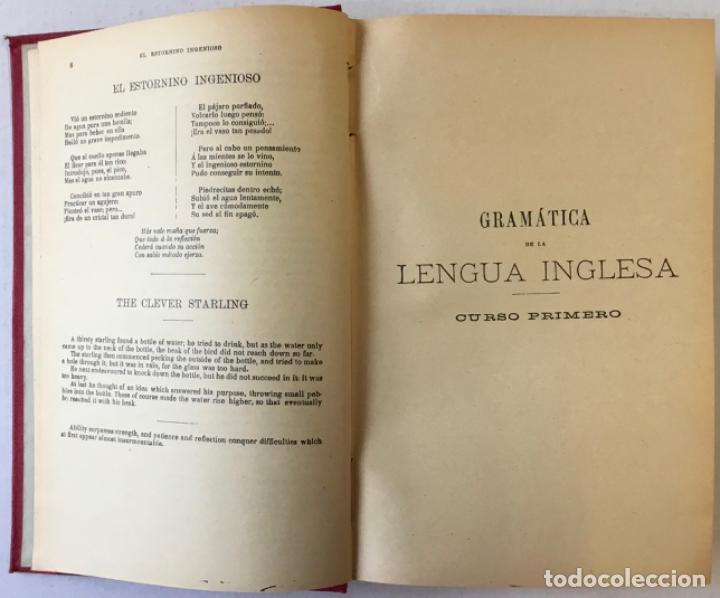 Libros antiguos: OLLENDORFF REFORMADO. GRAMÁTICA INGLESA Y MÉTODO PARA APRENDERLA. - BENOT, Eduardo. - Foto 3 - 236308755