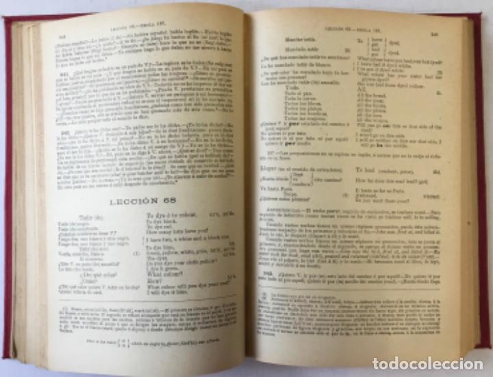 Libros antiguos: OLLENDORFF REFORMADO. GRAMÁTICA INGLESA Y MÉTODO PARA APRENDERLA. - BENOT, Eduardo. - Foto 5 - 236308755