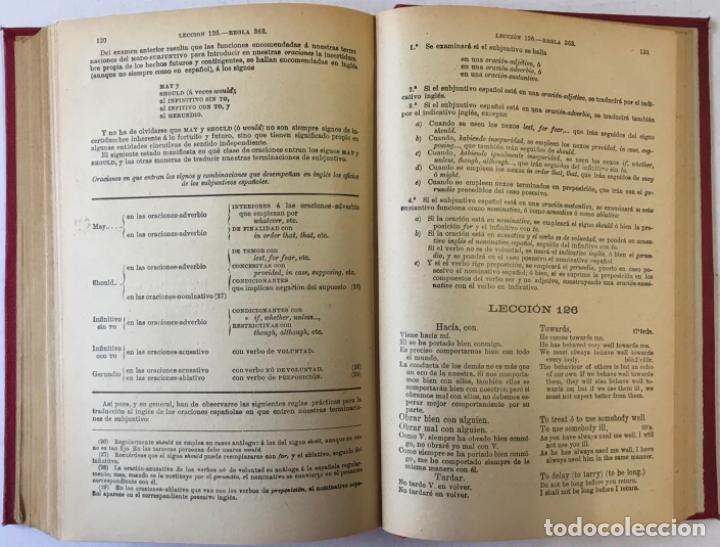 Libros antiguos: OLLENDORFF REFORMADO. GRAMÁTICA INGLESA Y MÉTODO PARA APRENDERLA. - BENOT, Eduardo. - Foto 6 - 236308755