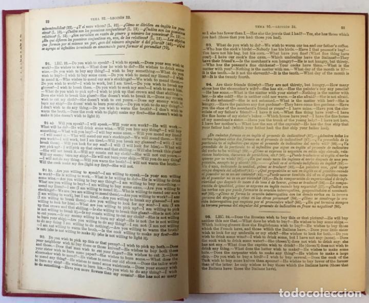 Libros antiguos: OLLENDORFF REFORMADO. GRAMÁTICA INGLESA Y MÉTODO PARA APRENDERLA. - BENOT, Eduardo. - Foto 9 - 236308755
