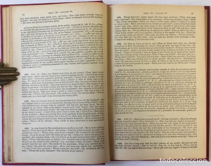 Libros antiguos: OLLENDORFF REFORMADO. GRAMÁTICA INGLESA Y MÉTODO PARA APRENDERLA. - BENOT, Eduardo. - Foto 11 - 236308755