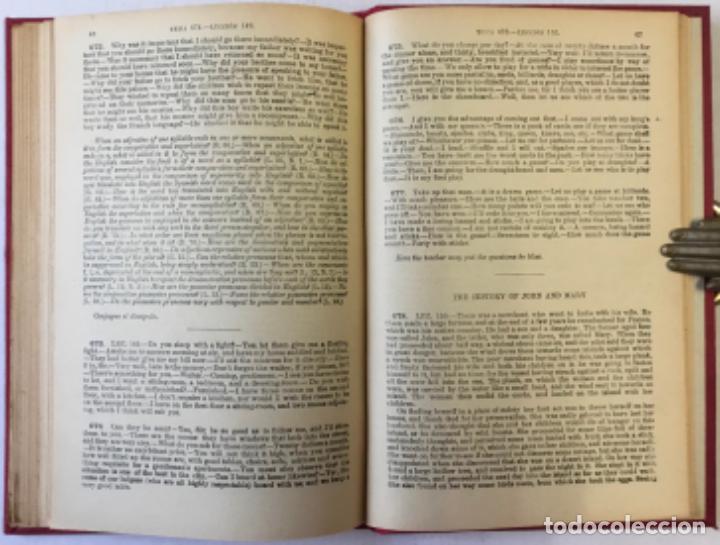 Libros antiguos: OLLENDORFF REFORMADO. GRAMÁTICA INGLESA Y MÉTODO PARA APRENDERLA. - BENOT, Eduardo. - Foto 12 - 236308755
