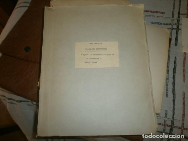 JEAN LESQUIER GRAMMAIRE EGYPTIENNE ADOLF ERMAN 1814 LE CAIRE IMPRIMERIE DE L´INSTITUT FRANCAIS 28X23 (Libros Antiguos, Raros y Curiosos - Ciencias, Manuales y Oficios - Pedagogía)