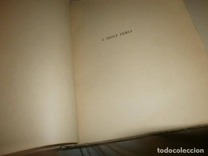 Libros antiguos: Jean Lesquier Grammaire Egyptienne Adolf Erman 1814 Le Caire Imprimerie de l´institut francais 28X23 - Foto 6 - 241517050