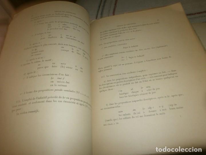Libros antiguos: Jean Lesquier Grammaire Egyptienne Adolf Erman 1814 Le Caire Imprimerie de l´institut francais 28X23 - Foto 8 - 241517050