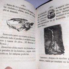 Libros antiguos: EDUCACIÓN RELIGIOSA EN EL SIGLO XIX. DIARIO DE LA INFANCIA. MADRID. 1847. MUCHOS GRABADOS.. Lote 243083285