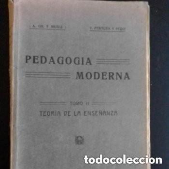 1921 PEDAGOGIA MODERNA TOMO II (Libros Antiguos, Raros y Curiosos - Ciencias, Manuales y Oficios - Pedagogía)