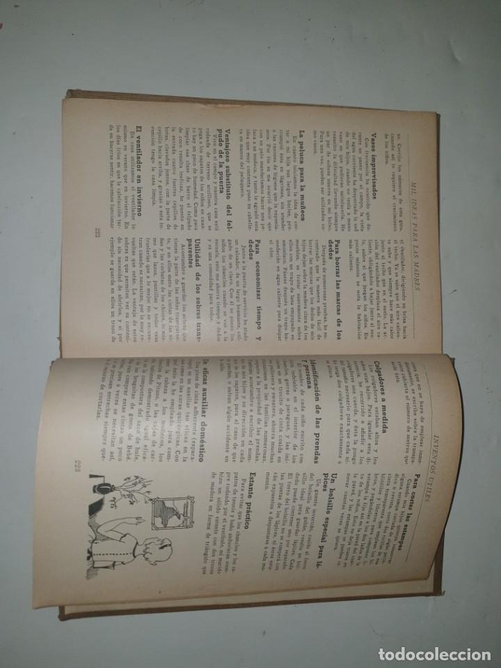 Libros antiguos: MIL IDEAS PARA LAS MADRES -1936 ED.HYMSA - Foto 6 - 253877485