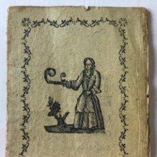 Libros antiguos: PER LO US DEL ESTUDI PUBLICH DEL CONVENT DE PP. AGUSTINOS DE TORRUELLA DE MONGRÍ.. Lote 266867059