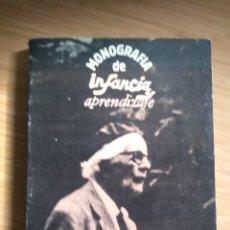 Libros antiguos: PIAGET. MONOGRAFIA DE INFANCIA Y APRENDIZAJE - VVAA. Lote 268740459