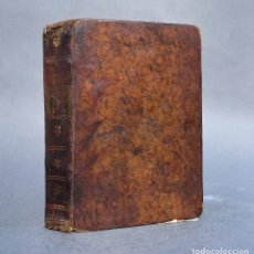 Libros antiguos: 1782 - HISTORIA CRITICA DE LA VIDA CIVIL - EL HOMBRE A TRAVES DE SU EDAD - EDUCACION. Lote 270348718